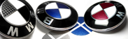 We now offer BMW factory paint-matched metallic & non-metallic vinyl emblem overlay sets for complete customization of your ride. 3D Carbon Fiber vinyls also in stock!